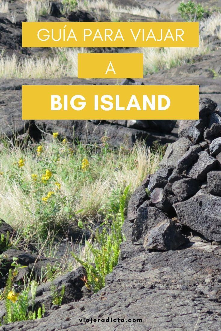 Te vas de viaje a Big Island? Revisa esta con guia con todos los datos que necesitas saber antes de comenzar tu viaje. #viaje #bigisland #hawai