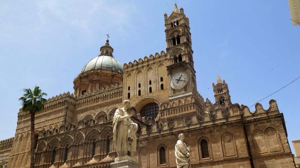 fachada catedral de palermo