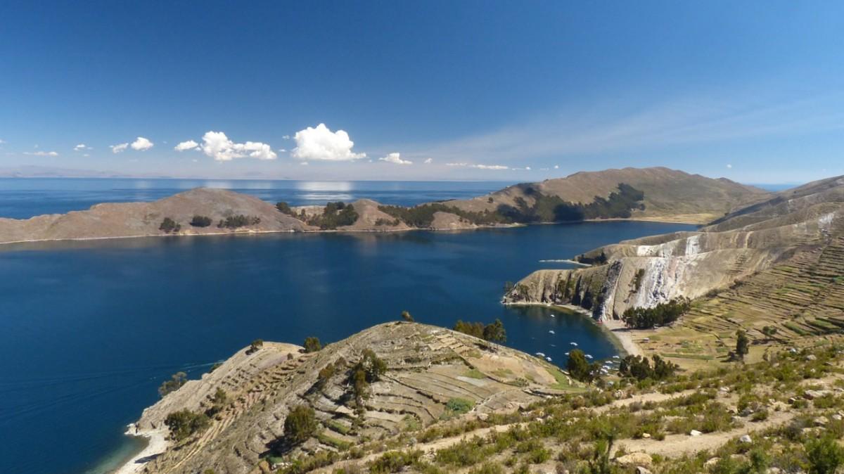lago titicaca parte bolivia
