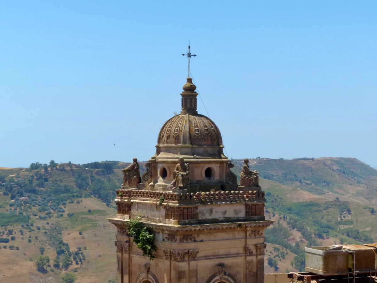 iglesia desde arriba caltagirone