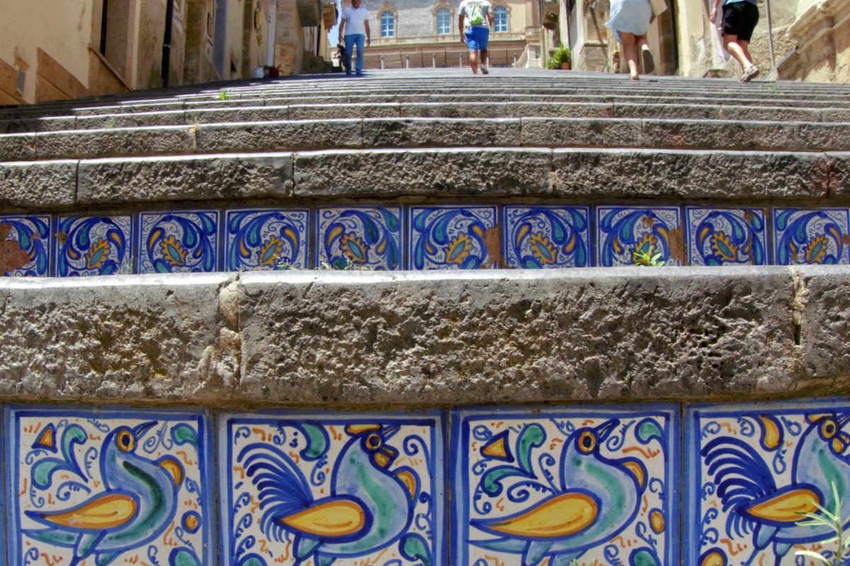 escalinatas de santa maria dei monte