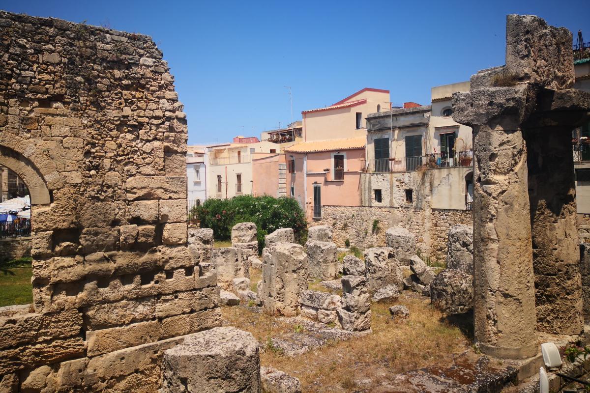 ruinas griegas en siracusa
